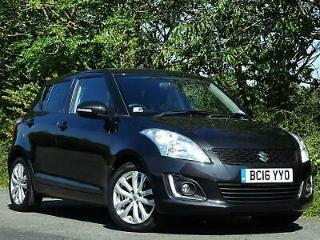 2016 Suzuki Swift 1.2 SZ4 £30 TAX FFSH SATNAV BLUETOOTH DAB AIR