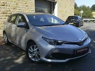 2016 Toyota Auris 1.2T Business Edition 5dr Petrol silver Manual