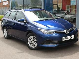 2016 TOYOTA AURIS 1.4 D 4D Active 5dr £0 TAX, BLUETOOTH and ALLOYS