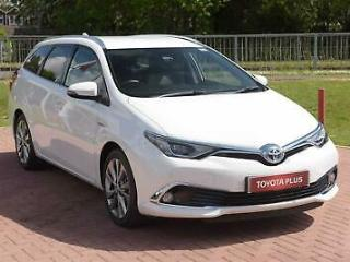 2016 Toyota Auris 1.8 VVT i HSD Excel Touring Sports PETROL/ELECTRIC white CVT