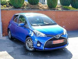 2016 Toyota Yaris 1.33 Icon Petrol blue Manual