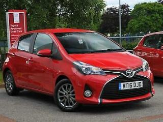 2016 Toyota Yaris 1.33 Icon Petrol red Manual