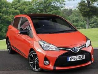 2016 Toyota Yaris 1.5 Orange Edition PETROL/ELECTRIC orange Automatic