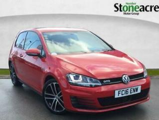 2016 Volkswagen Golf 2.0 TDI BlueMotion Tech GTD Hatchback 3dr Diesel DSG