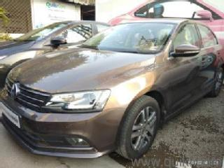 Brown 2016 Volkswagen Jetta Highline TDI AT 65393 kms driven in Wakad