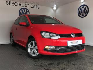Mar 2016 Volkswagen Polo 1.2 TSI 90PS New Match 3dr Hatchback