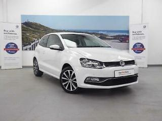 2016 Volkswagen Polo 1.2 TSI 90PS New Match 3dr Hatchback Petrol white Manual