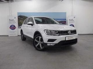 2016 Volkswagen Tiguan 1.4 TSI 150PS 2WD SE 5Dr Petrol white Manual