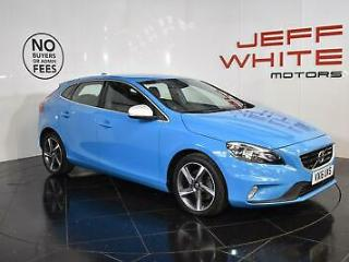 2016 Volvo V40 2.0 T2 [122] R DESIGN 5dr Petrol blue Manual
