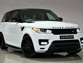 2016 White Land Rover Range Rover Sport 3.0 SD V6 HSE AUTOBIOGRAPHY STYLING