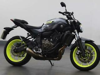 2016 Yamaha MT 700 ABS 35kw Naked Petrol silver