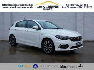2017 17 FIAT TIPO 1.4 LOUNGE 5D 94 BHP