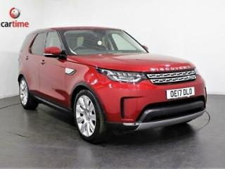 2017 17 LAND ROVER DISCOVERY 5 3.0 TD6 HSE LUXURY 4X4 5D AUTO 255 BHP SAT NAV PA