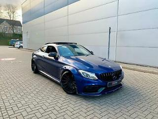 2017 17 Mercedes Benz C63 S AMG 4.0 510 Coupe + STYLING KIT + STUNNING