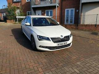 2017 66 SKODA SUPERB 2.0 TDI S CR LAURIN & KLEMENT DIESEL HATCHBACK 190 BHP !