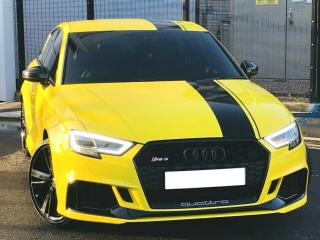 2017 67 Audi RS3 2.5 TFSI Quattro Auto, HUGE SPEC, Wrapped In Yellow