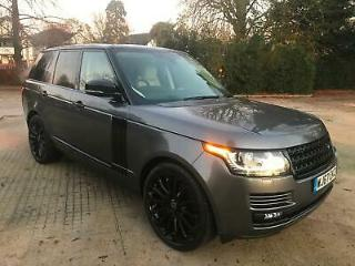 2017 *67* Land Rover Range Rover 4.4 SDV8 Auto Vogue SALVAGE DAMAGED REPAIRED