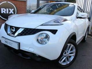 2017 67 NISSAN JUKE 1.5 N CONNECTA DCI 5D 1 OWNER BLUETOOTH CRUISE CONTROL REVER