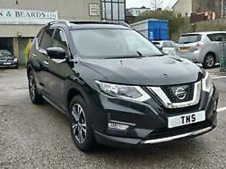 2017 67 NISSAN X TRAIL N CONNECTA 1.6 DCI 7 SEATS UNRECORDED DAMAGED SALVAGE