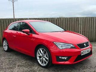 2017 67 Seat Leon 1.4 EcoTSI 150ps s/s SportCoupe 1390cc FR Tech Pack Red