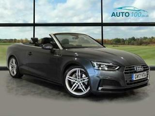 2017 Audi A5 Cabriolet 2.0 TDI S line Cabriolet S Tronic s/s 2dr