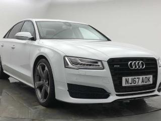 Audi A8 Special Editions 3.0 TDI Quattro Black Edition 4dr Tip Auto Saloon 2017, 17153 miles, £29990