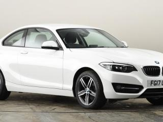 BMW 2 Series 218i Sport 2dr [Nav] Coupe 2017, 14980 miles, £14679