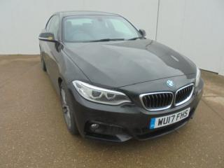 BMW 2 Series 220d [190] xDrive M Sport 2dr [Nav] Step Auto Coupe 2017, 79715 miles, £14299