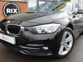 BMW 3 Series 1.5 318I SPORT 4d 1 OWNER FROM NEW LOW MILEAGE BLUETOOTH CRUISE CONTROL SATNAV PARKING SENSORS Saloon 2017, 16000 miles, £14999