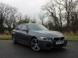 BMW 3 Series 335d xDrive M Sport Saloon Front and rear parking sensors 2017, 15452 miles, £24444