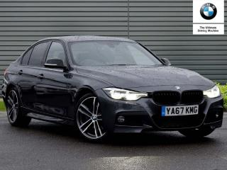 BMW 3 Series Special Edition 320d M Sport Shadow Edition 4dr Step Auto Saloon 2017, 19870 miles, £20890