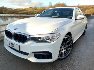 2017 BMW 520D X DRIVE M SPORT AUTO WHITE / NEW SHAPE / ONLY 2000 MILES