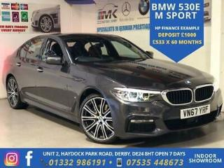 2017 BMW 5 Series 2.0 530e iPerformance 9.2kWh M Sport Auto s/s 4dr