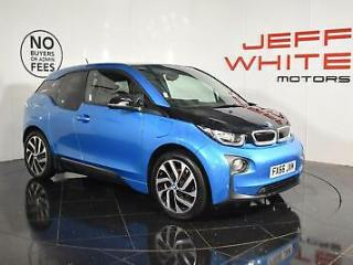 2017 BMW i3 125kW Range Extender 33kWh 5dr Automatic Electric blue Automatic