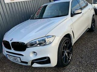2017 BMW X6M 5.0 MSport Diesel Steptronic Auto BRAND NEW 2019 M SPORT ALLOYS