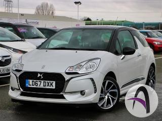 DS DS 3 1.2 PureTech 82 Connected Chic 3dr 17in All Hatchback 2017, 18967 miles, £9499