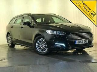 2017 FORD MONDEO ZETEC ECONETIC TDCI £20 ROAD TAX SERVICE HISTORY NAV 1 OWNER