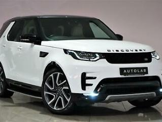 2017 Fuji White Land Rover Discovery 3.0TD6 HSE