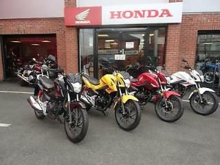 New Honda CB125F Commuter with 2 years warranty & AA cover