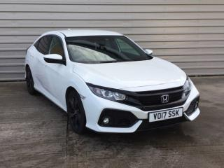 Honda Civic 1.0 VTEC Turbo SR 5dr Hatchback 2017, 23774 miles, £12199