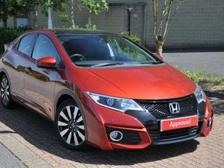 Honda Civic 1.8 i VTEC SR 5 Door Hatchback 2017, 27541 miles, £13554