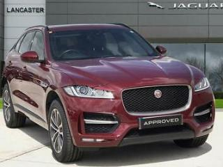 2017 Jaguar F pace R SPORT AWD Diesel red Automatic