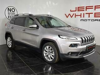 2017 Jeep Cherokee 2.0 Multijet Limited 5dr 4WD Diesel grey Manual