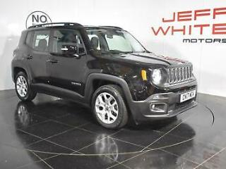 2017 Jeep Renegade 1.6 Multijet Longitude 5dr Diesel black Manual