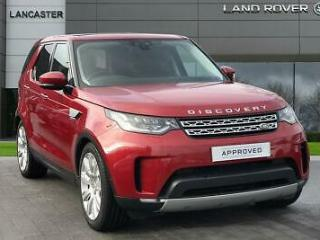 2017 Land Rover Discovery SD4 HSE LUXURY Diesel red Automatic