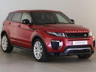 2017 Land Rover Range Rover Evoque TD4 HSE DYNAMIC LUX Diesel red Automatic
