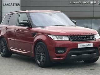 2017 Land Rover Range Rover Sport Petrol red Automatic