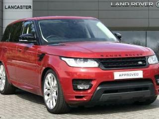 2017 Land Rover Range Rover Sport SDV8 AUTOBIOGRAPHY DYNAMIC Diesel red Automati