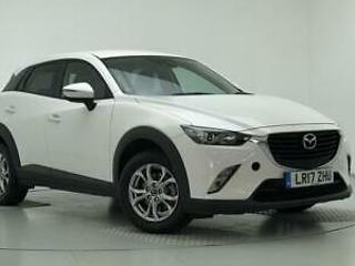 2017 Mazda CX 3 2.0 SE L Nav 5dr Petrol white Manual