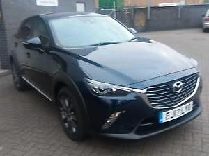 2017 Mazda CX 3 2.0 Sport Nav 5dr Petrol blue Manual